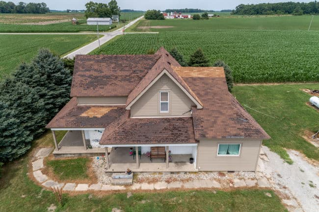 This Fort Wayne, IN home needed a roofing contractor to replace their roof.